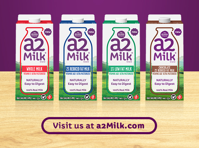 Visit us at https://a2milk.com/