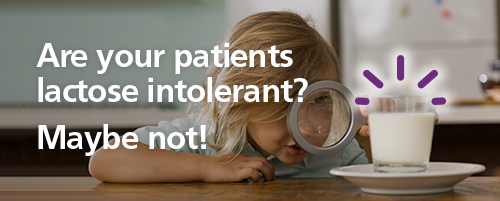 Are your patients lactose intolerant? Maybe not!