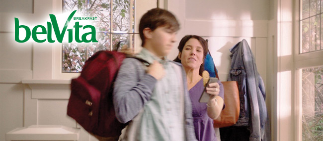 Tackle Back-to-School Mornings with belVita