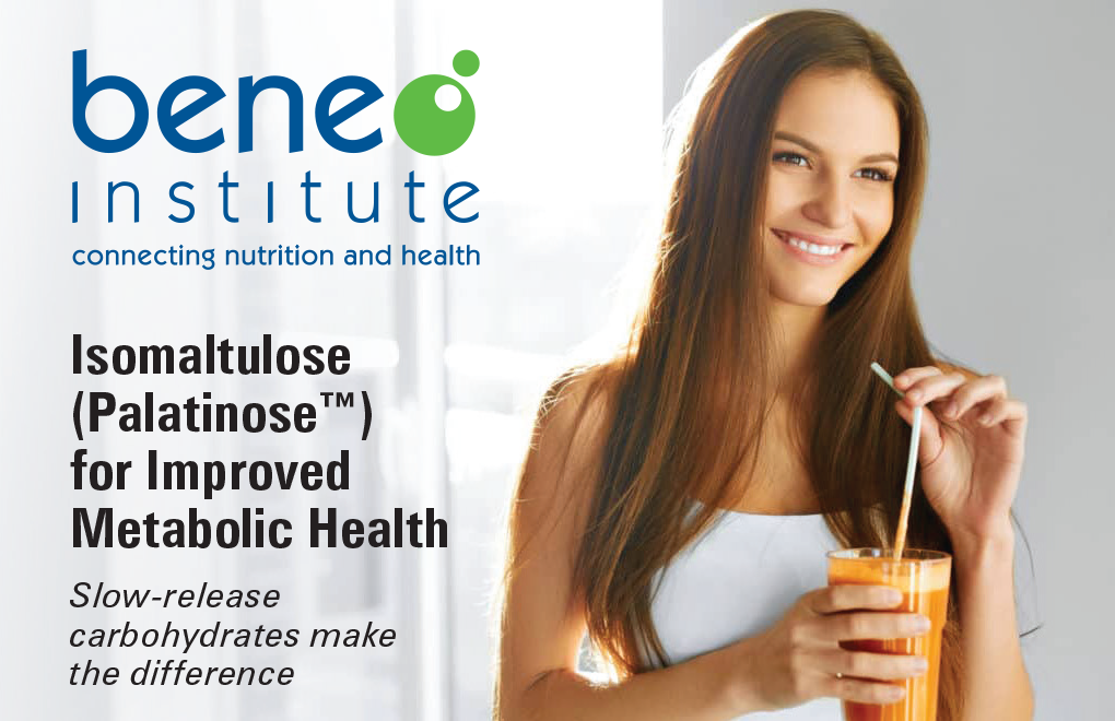 Beneo Institute | Isomaltulose (Palatinose™) for Improved Metabolic Health | Slow-release carbohydrates make the difference