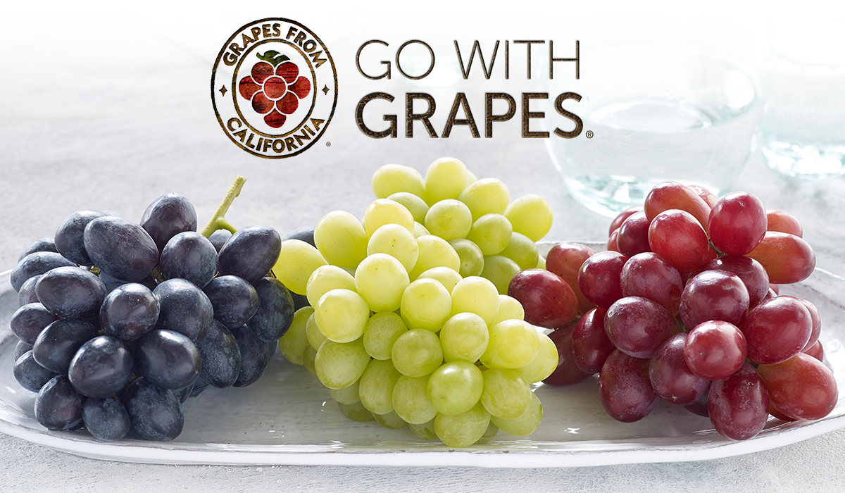 Grapes From California | Go with Grapes