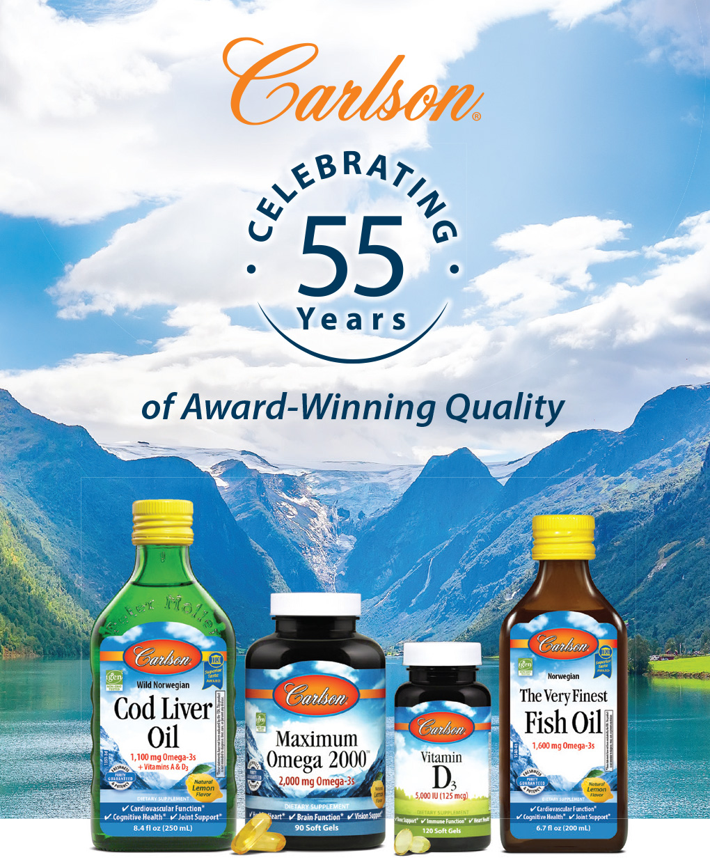 Carlson | Celebrating 55 Years of Award-Winning Quality