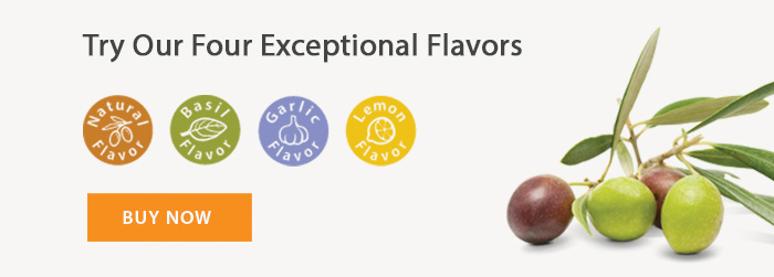 Try Our Exceptional Flavors: Natrual Flavor, Basil Flavor, Garlic Flavor, Lemon Flavor - BUY NOW