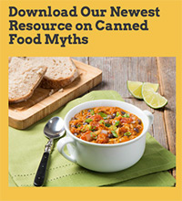 Download Our Newest Resource on Canned Food Myths