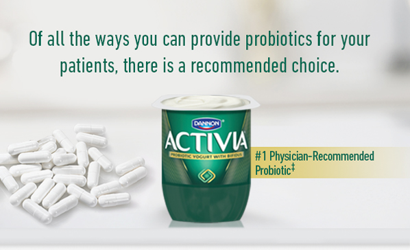 The #1 Physician-Recommended Probiotic