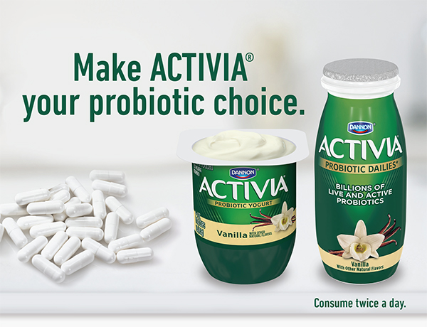 Make AVTIVIA your prodiotic choice - click here for coupon referral pad.