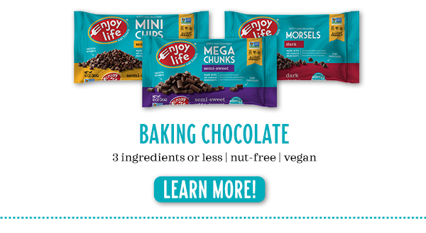 Baking Chocolate - 3 ingredients or less | nut-free | vegan - Learn More!