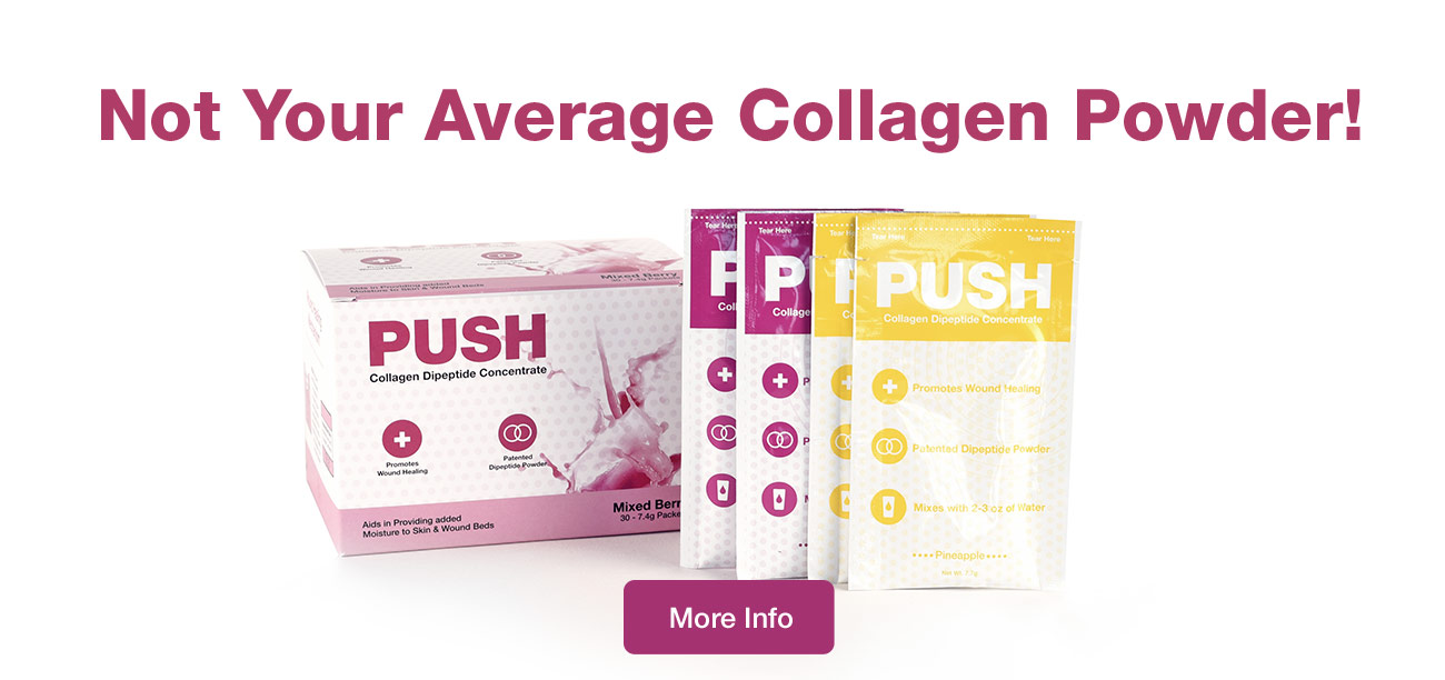 PUSH: Not your Average Collagen Supplement