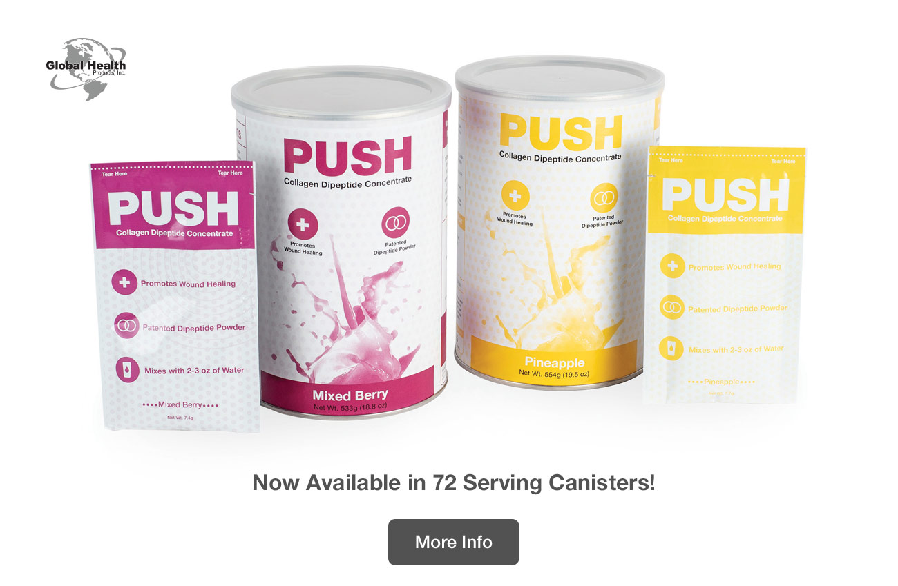 PUSH: Now Available in 72 Serving Canisters!