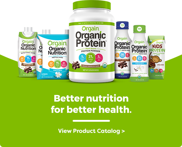 Better nutrition for better health. View Product Catalog.