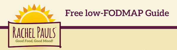 Rachel Pauls Free low-FODMAP Guide