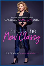 Candace Cameron Bure's new book, Kind is the New Classy