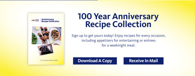 100 Year Anniversary Recipe Collection - Sign up to get your today! Enjoy recipe for every occasion, including appetizers for entertaining or entrees for a weeknight meal. Download A Copy or Receive In Mail: http://sunsweet.com/100-Year-Anniversary-Recipe-Collection/