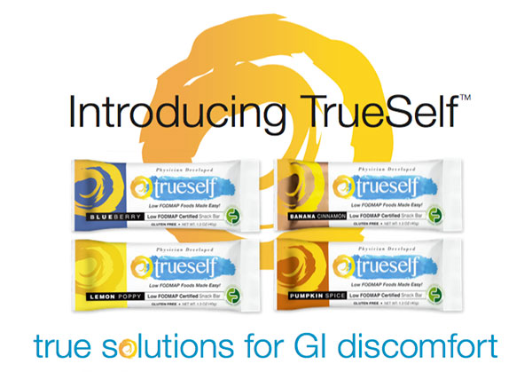 Introducing TrueSelf(TM) - True solutions for GI discomfort.