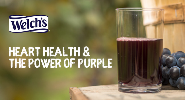 Welch's - Heart Health & the Power of Purple